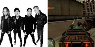 Metallica'nın hiç yayınlanmayan oyunu ortaya çıktı!