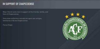 FIFA 17, uçak kazasında ölen Chapacoense oyuncularını andı