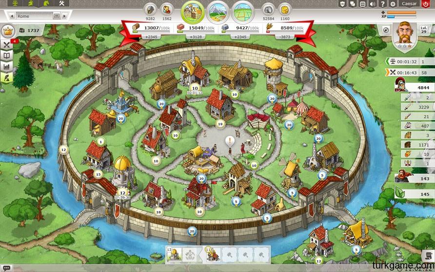 Travian Cermenler İçin Önemli Oyun Taktikleri